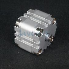 ADVU Compact Air Cylinder Female Thread Bore 40-100mm Stroke 5-100mm Double Act