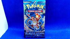 Black and white pokemon booster (EMPTY NO CARDS plasma storm infernape mint