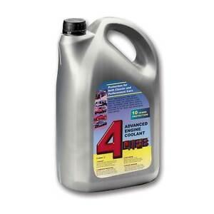 4-Life Advanced Car/Race/Track Engine Coolant/Fluid - 5 Litres 5L