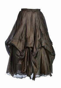 Jordash Skirt Ruched Brown
