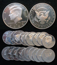 Roll of 20 2003-S Proof Kennedy 90% Silver Half Dollars