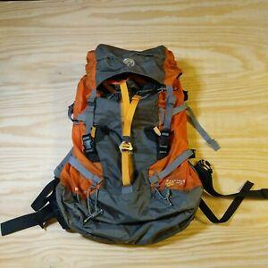 Mountain Hardware Orange/Gray Scrambler Backpack-Unisex