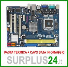 ASROCK G31M-GS Socket LGA 775 // supporta Core™2 Quad // Scheda Madre #466