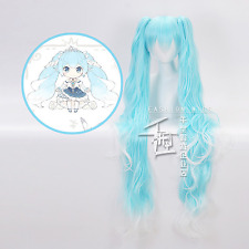 Hatsune Miku Cosplay Wig 120cm Beautiful Long Straight Cosplay Wig Free Shipping