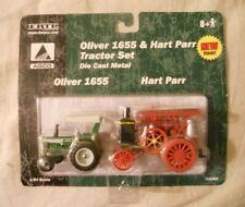 Ertl Farm Country Toy Machines Oliver 1655 Hart Parr Tractor Set MIP 1/64!!
