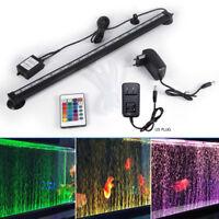 Buntes Tauch Aquarium Aquarium RGB LED Lichtleiste Streifen Lampe Fernbedienung