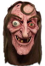 Sea Hag Witch Mask Bugged Eyed 3/4 Latex Halloween Character Mask With Hod