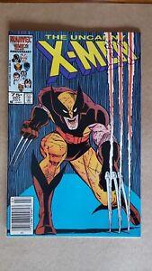Uncanny X-Men #207 (Marvel Comics) Classic Wolverine Cover ~ High Grade VF-