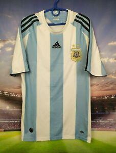 Argentina Jersey 2007 2009 Home SMALL Shirt Soccer Football Adidas