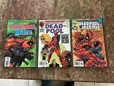 DEADPOOL CIRCLE CHASE 1 2 3 4 BABY WIDDLE WADE XMEN MERC WITH A MOUTH MORE NM