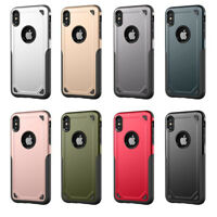 For iPhone XS Max XR X 7 8 Plus Protective Shockproof Hybrid Rugged Case Cover