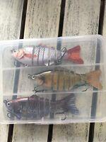 New Fishing Lure Set ( 3 piece)