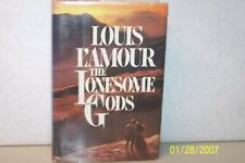 The Lonesome Gods Louis L'Amour USA 1983 hardcover W/jacket Inscribed USA