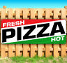 HOT FRESH PIZZA Advertising Vinyl Banner Flag Sign Many Sizes Available USA
