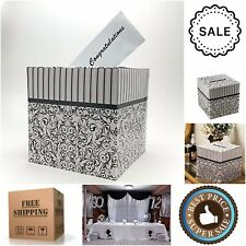Card Money Gift Box Party Favor Decoration Wedding Wishing Well Envelope Holder