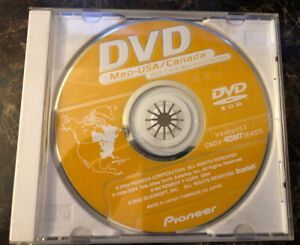 PIONEER DVD MAP-USA/CANADA VERSION 1.1. CNDV-40MT (EAST)
