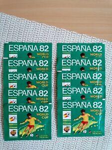 "Panini World Cup Espana 82, original sealed packet ""mint""."