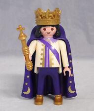 PLAYMOBIL König mit Zepter Umhang und Krone für Märchenschloss Ritter # 15