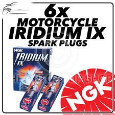 6 x NGK IRIDIUM IX CANDELE PER HONDA 1500cc GL1500CT ( ala d' ORO ) 97- > 00