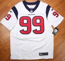 4dc037ae6 JJ Watt Houston Texans White Navy Nike Elite Jersey Sz 44 Men LG 479117-104