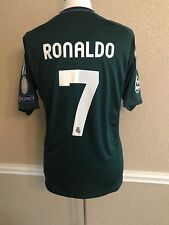 Real Madrid Spain Ronaldo LG Portugal Player Issue Formotion Match Unworn Shirt