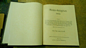 Reichsgesetzblatt 1912