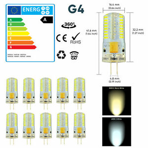 G4 LED 1.5W 3W 5W 7W Capsule Light Bulb True Size Replacement G4 Bulbs AC/DC 12V