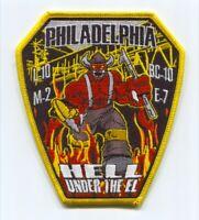 Philadelphia Fire Department Engine 7 Ladder 10 Medic 2 Patch Pennsylvania PA