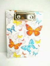 Mini Clipboards Lot Of 5 With Paper