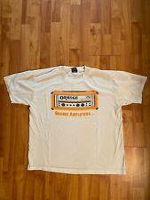 Vintage Orange Amplifiers XL T-shirt