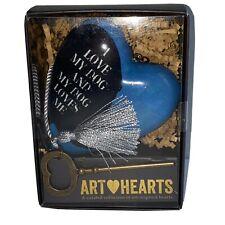NIB Demdaco I Love My Dog My Dog Loves Me Art Heart Decorative Lisa Weedn