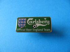 Carlsberg pin badge, unused. VGC. Official Beer England Football Team.