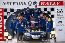 Colin MCRAE SUBARU IMPREZA 555 WINNER RALLY GB 1994 FOTOGRAFIA 3