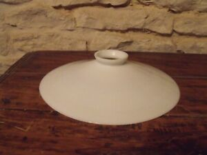 Vintage French milk glass Lampshade