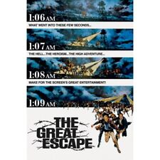 "THE GREAT ESCAPE POSTER - CLASSIC MOVIE STEVE McQUEEN - 91 x 61 cm 36"" x 24"""