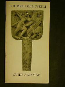 The British Museum - Guide and Map 1970 - Guide touristique du musée avec carte