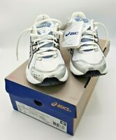 Asics Patriot 3 Trainers Women T07VQ White/Silver/White UK  size 4 EU 37 - BNIB