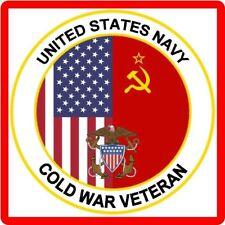 US Navy Cold War Veteran Refrigerator / Tool Box  Magnet