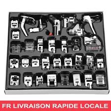 Set 32 Pied-de-biche Pour Machine A Coudre Domestique Brother Singer Toyota FR