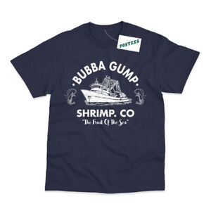 Bubba Gump Shrimp Inspired by Forrest Gump Printed T-Shirt