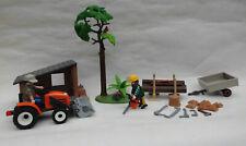 PLAYMOBIL Holzfäller mit Traktor 6814