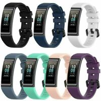 Für Huawei Band3 Pro Smart Watch Band Wristwatch Soft Silikon Strap Ersatz Teile