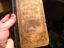 #12-37  antique book dr benjamin greenleaf intro  national arithmetic 1857