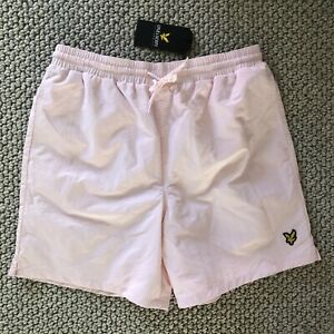 lyle and scott Swim Shorts Mens PINK L (Blue M Available) BNWT