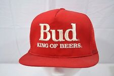 Bud King Of Beer Trucker Style Baseball Cap Snapback