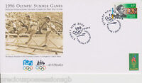 1996 Olympics AUSTRALIA OFFICIAL INTERNATIONAL OLYMPIC COMMITTEE FIRST DAY COVER