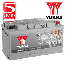 Yuasa YBX5019 Car Battery Calcium Silver Case SMF SOCI 12V 900CCA 100Ah T1