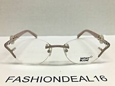 New Montblanc Authentic MB 441 Pink Pearl MB441 078 53-16-135 RX Eyeglasses