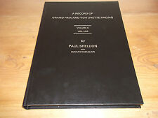Book. A Record of Grand Prix and Voiturette Racing Vol 6 1953-1959. Paul Sheldon