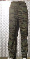 """Tiger Camouflage Military Style Combat / Cargo Trousers Size 34""""-38"""" - NEW"""